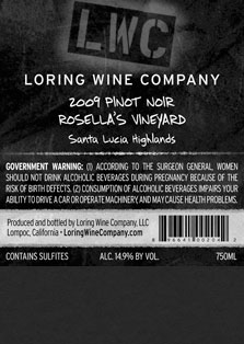 More about 00204-LWC-2009-Pinot-Rosellas-750ML-Label