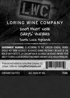 More about 00205-LWC-2009-Pinot-Garys-750ML-Label