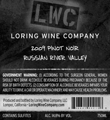 More about 00215-LWC-2009-Pinot-Russian-River-Valley-750ML-Label