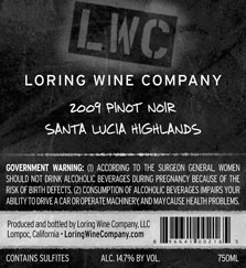 More about 00216-LWC-2009-Pinot-Santa-Lucia-Highlands-750ML-Label