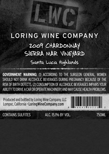 More about 00220-LWC-2009-Chardonnay-Sierra-Mar-750ML-Label