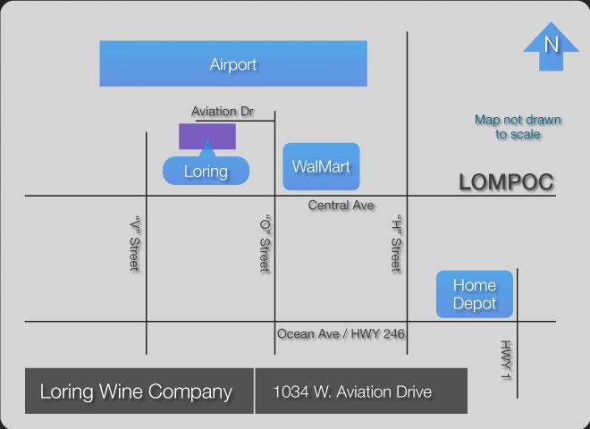 lwcOpenHouseMap Loring Wine Company Open House